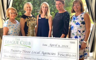 The League Club Invests in the Community
